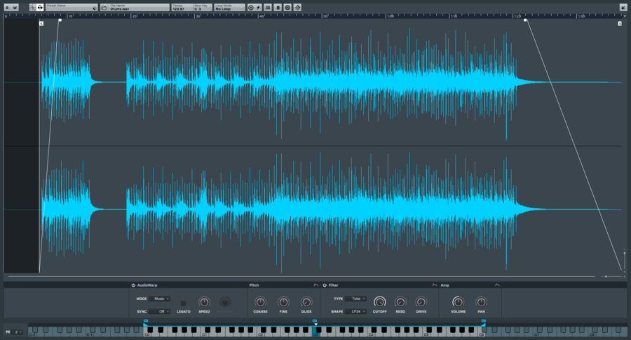 MIDI composition | Steinberg